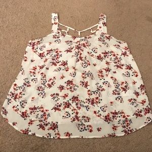 Maurices Floral Tank - Size Large [NWOT]